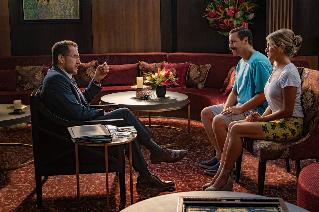 Adam Sandler, Jennifer Aniston y Dany Boon