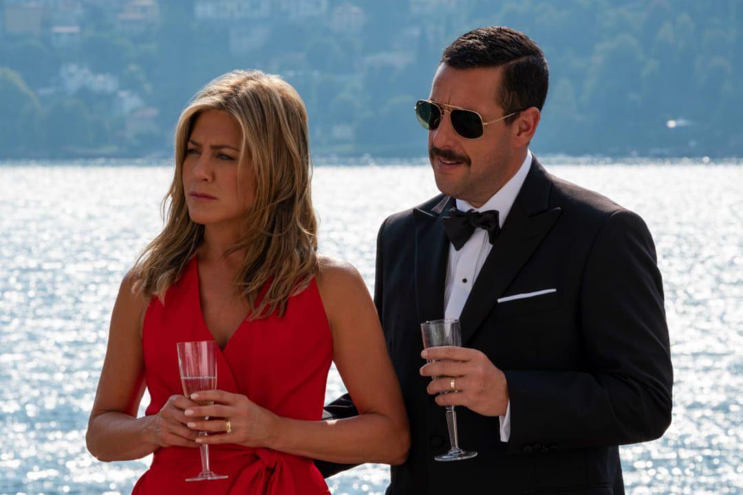 Adam Sandler y Jennifer Aniston