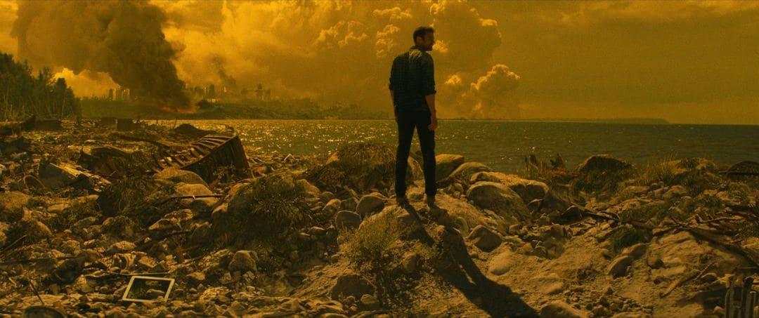 Escena de la película El final de todo (Netflix)