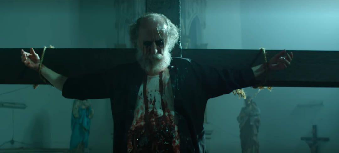 Escena de la película La marca del demonio de Netflix