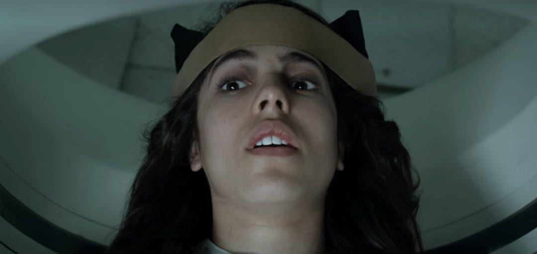 Camila (Arantza Ruiz) en una escena de la película