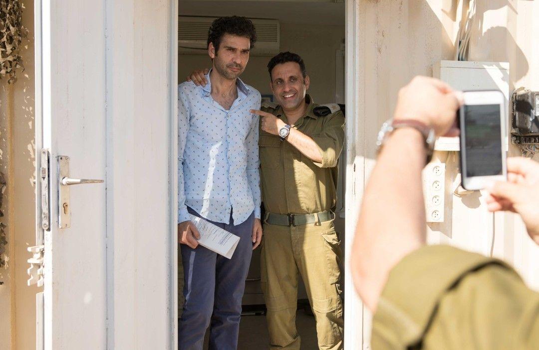Yaniv Biton y Kais Nashif en la película