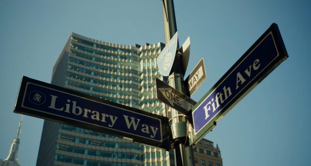 ¿La Biblioteca Pública de Nueva York, por favor?