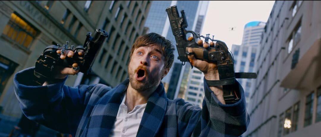 Daniel Radcliffe en la película
