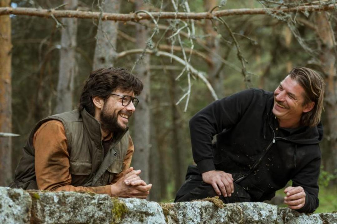 El Profesor y Marsella en la serie