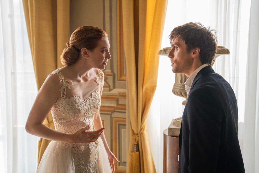 Escena de Amor, boda, azar de Netflix