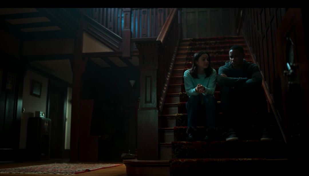 Una de las escenas de suspense de la cinta