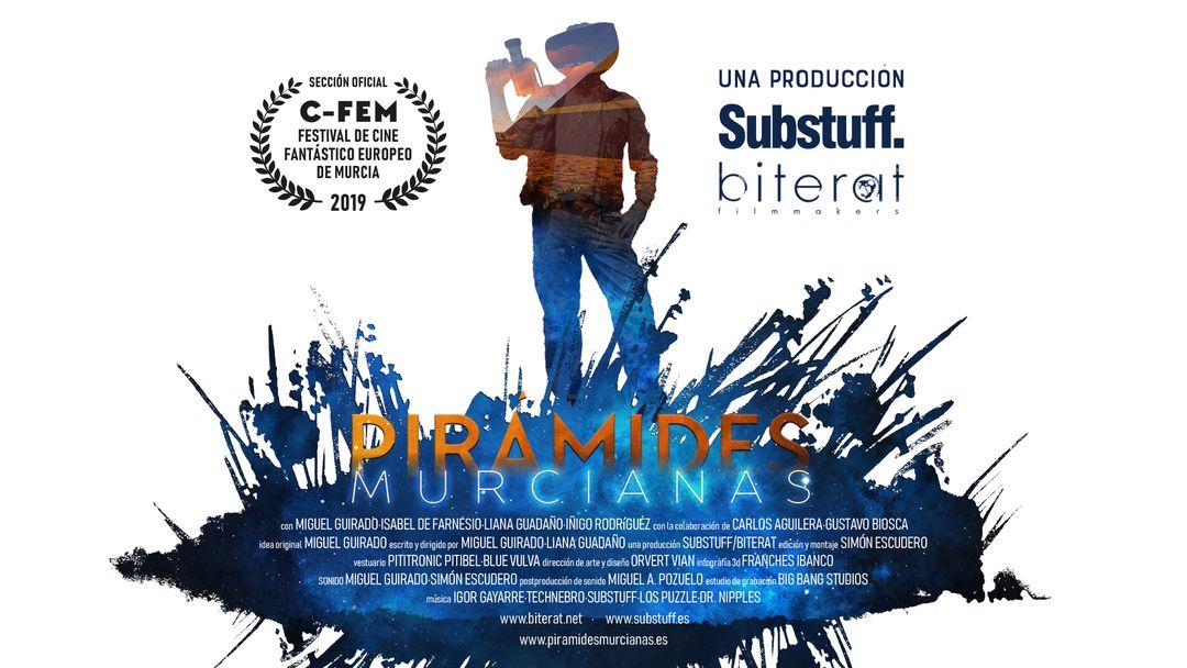 Cartel del documental Pirámides murcianas de Amazon Prime Video