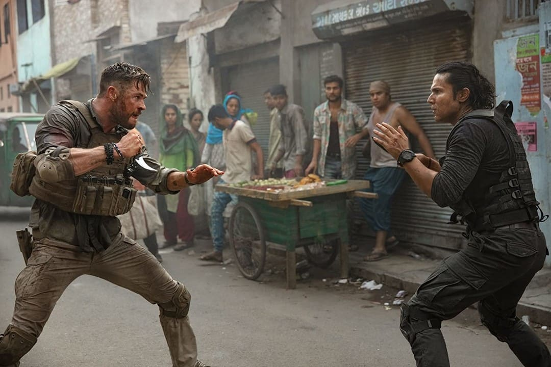 Randeep Hooda y Chris Hemsworth