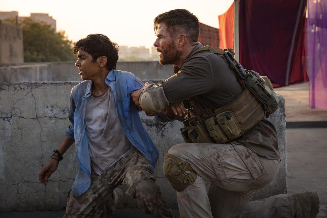Escena de la película Tyler Rake de Netflix