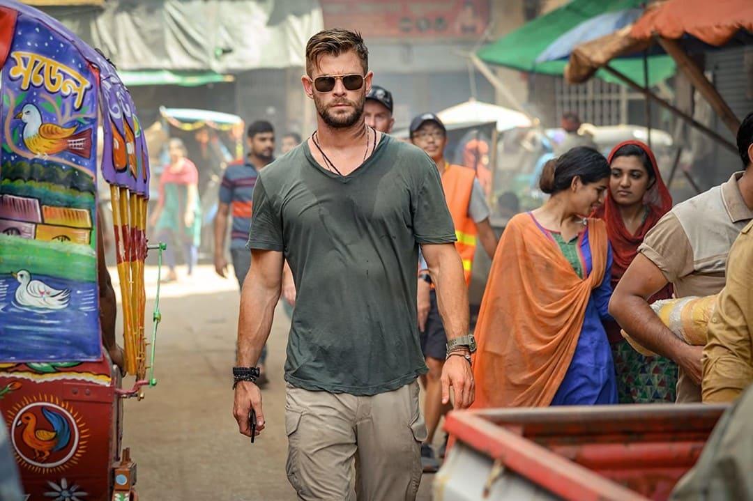 Chris Hemsworth es Tyler Rake