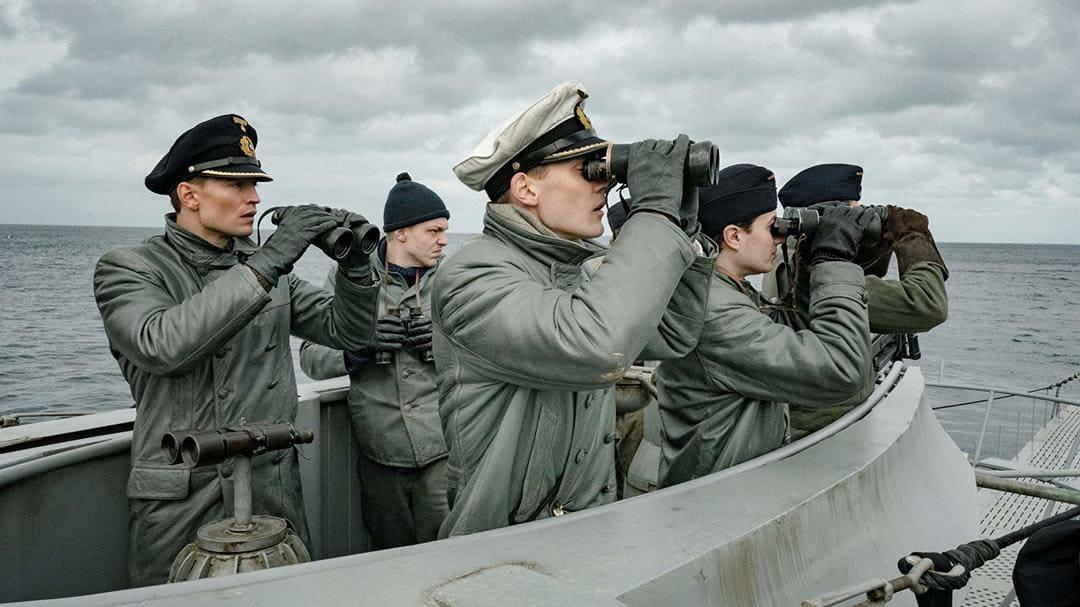 Escena de la serie El submarino (Das Boot)