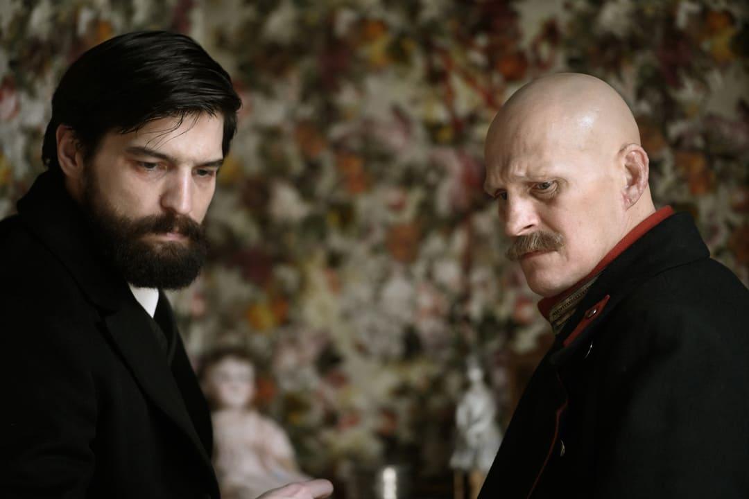 Freud y Kiss, personajes de la serie