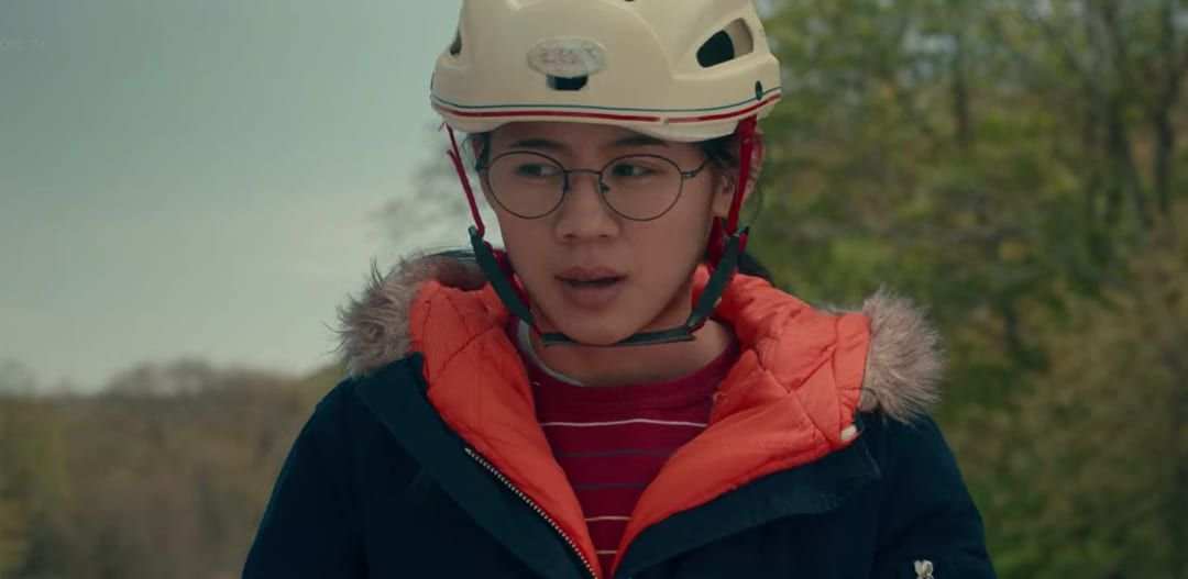 Escena de la película Conquista a medias de Netflix