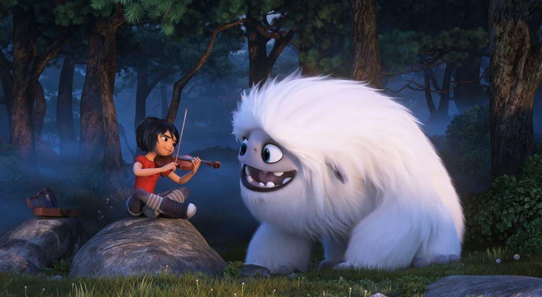 Everest y Yi en la película