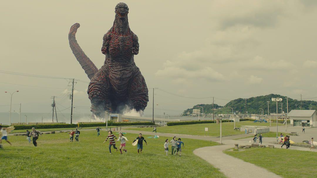 Godzilla en acción