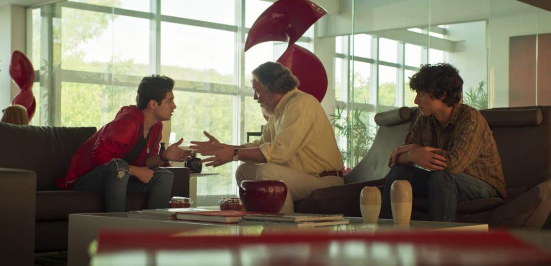 Una de las escenas de Ricos en amor de Netflix