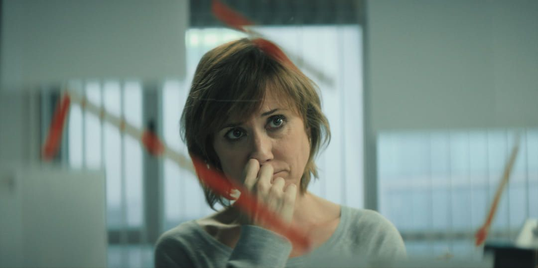 Nathalie Poza en la serie La Unidad de Movistar
