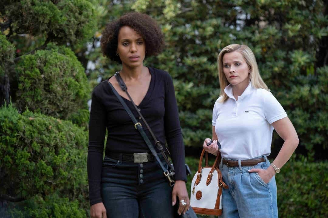 Reese Witherspoon y Kerry Washington