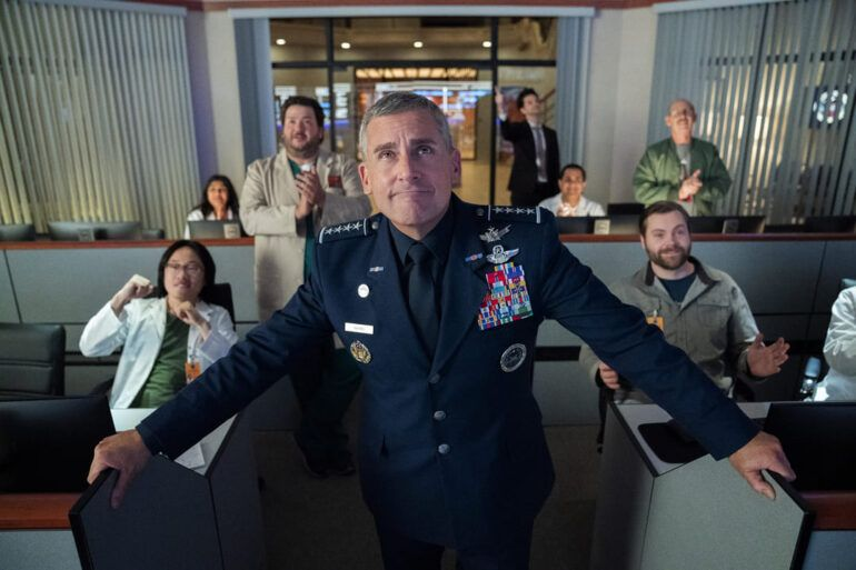 Crítica de la serie Space Force de Netflix