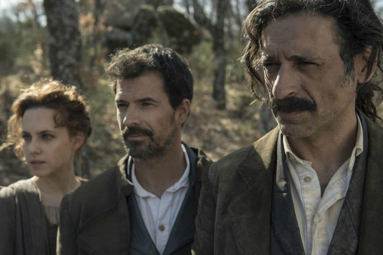 Rodolfo Sancho, Nacho Fresneda y Aura Garrido