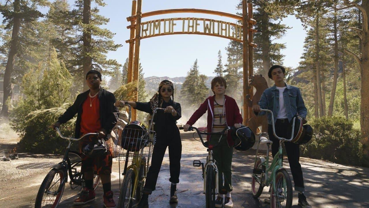 Los jóvenes protagonistas de la película