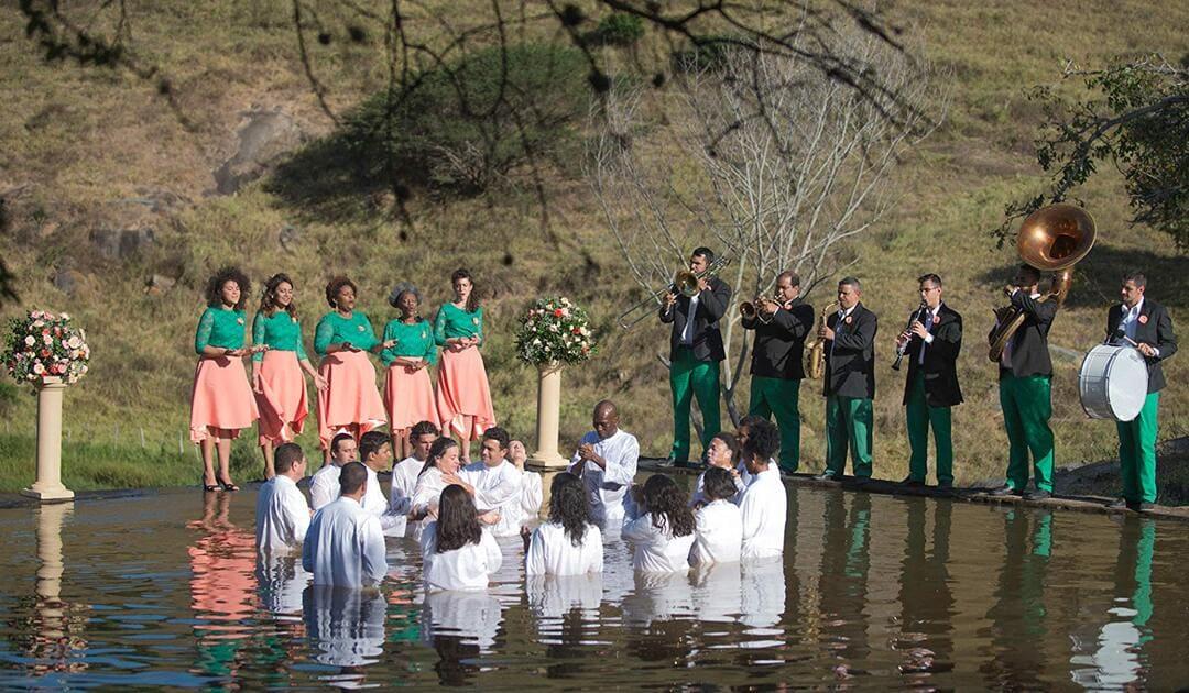 Ritual de la religión 'Divino amor'