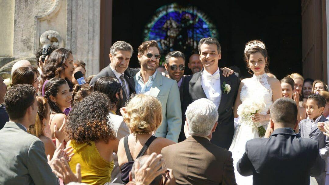 Edgar Ramirez, Wagner Moura, Ana de Armas y Leonardo Sbaraglia