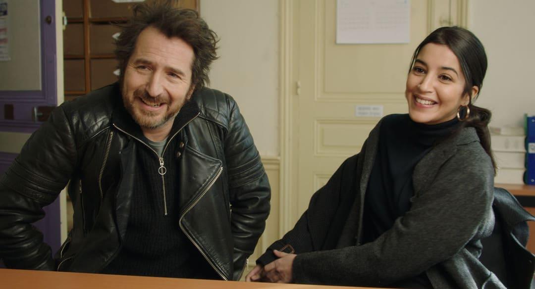Sofia (Leïla Bekhti) y Paul (Edouard Baer)