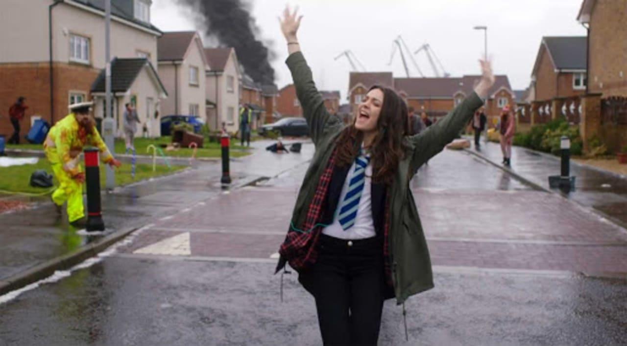 Escena de la película Ana y el apocalipsis