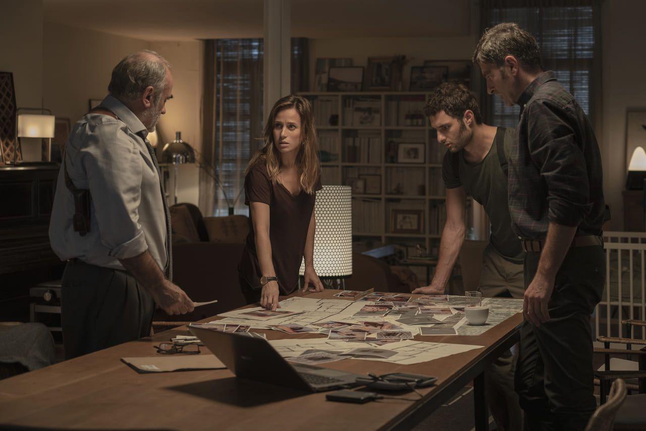 Escena de la película Ofrenda a la tormenta en Netflix