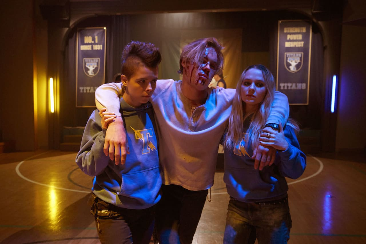 Escena de la película Riot Girls (2018)
