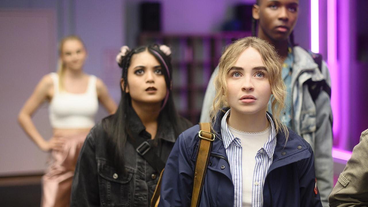 Escena de la película Work it: Al ritmo de los sueños (Netflix)