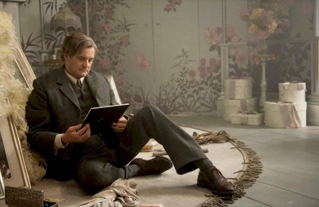 Colin Firth en la película