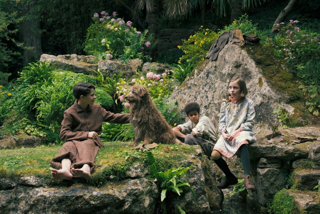 Escena de la película El jardín secreto