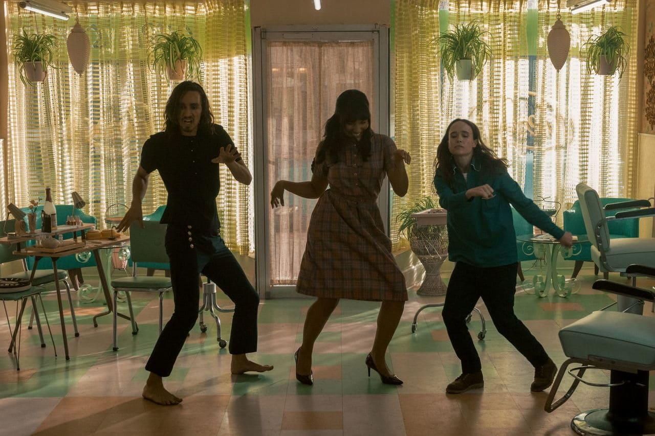 Escena de la serie The Umbrella Academy Temporada 2