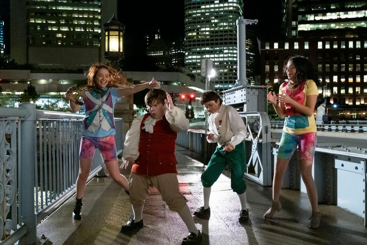 Escena de la película Una noche de locos de Netflix