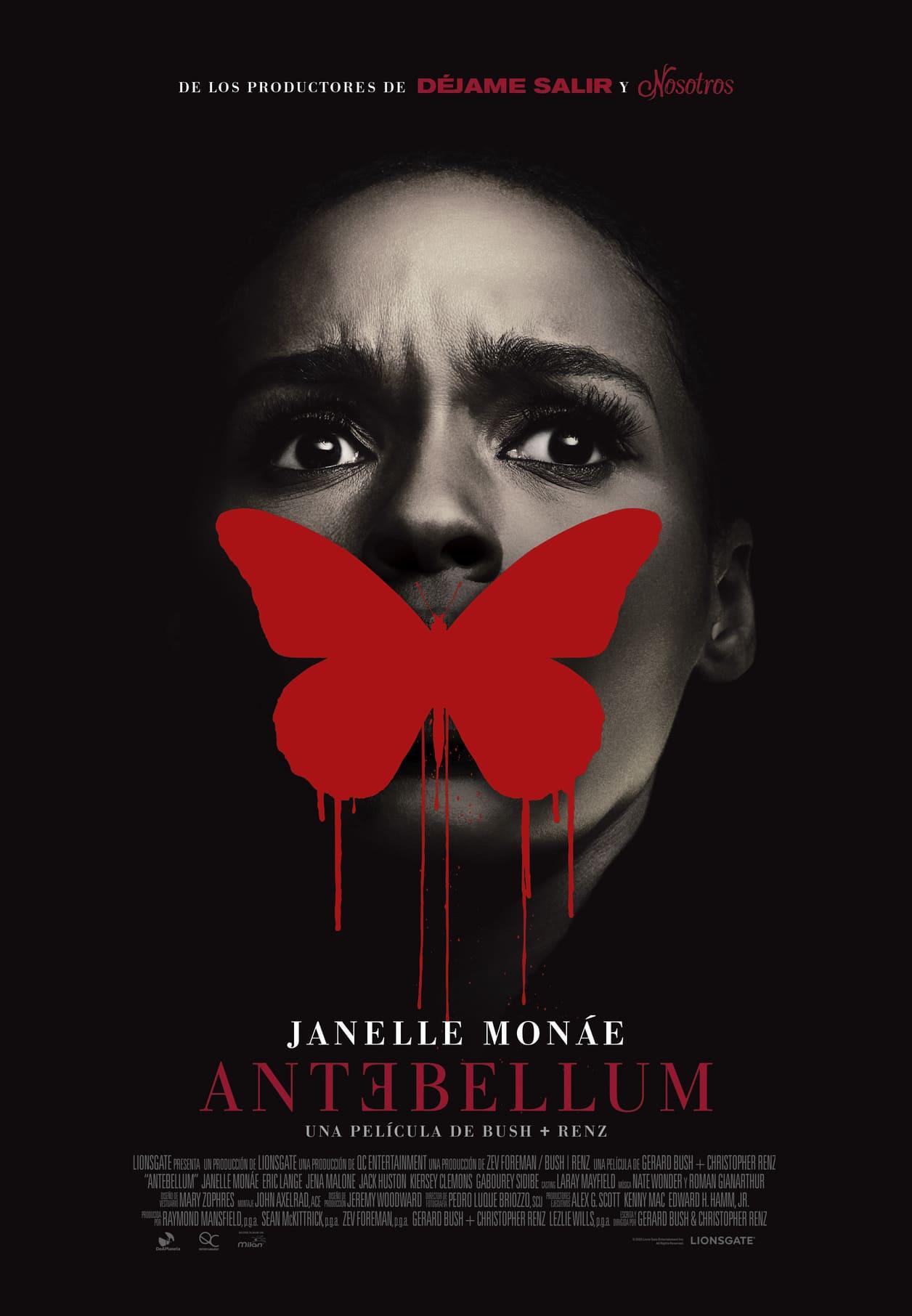 Cartel de cine de la película Antebellum