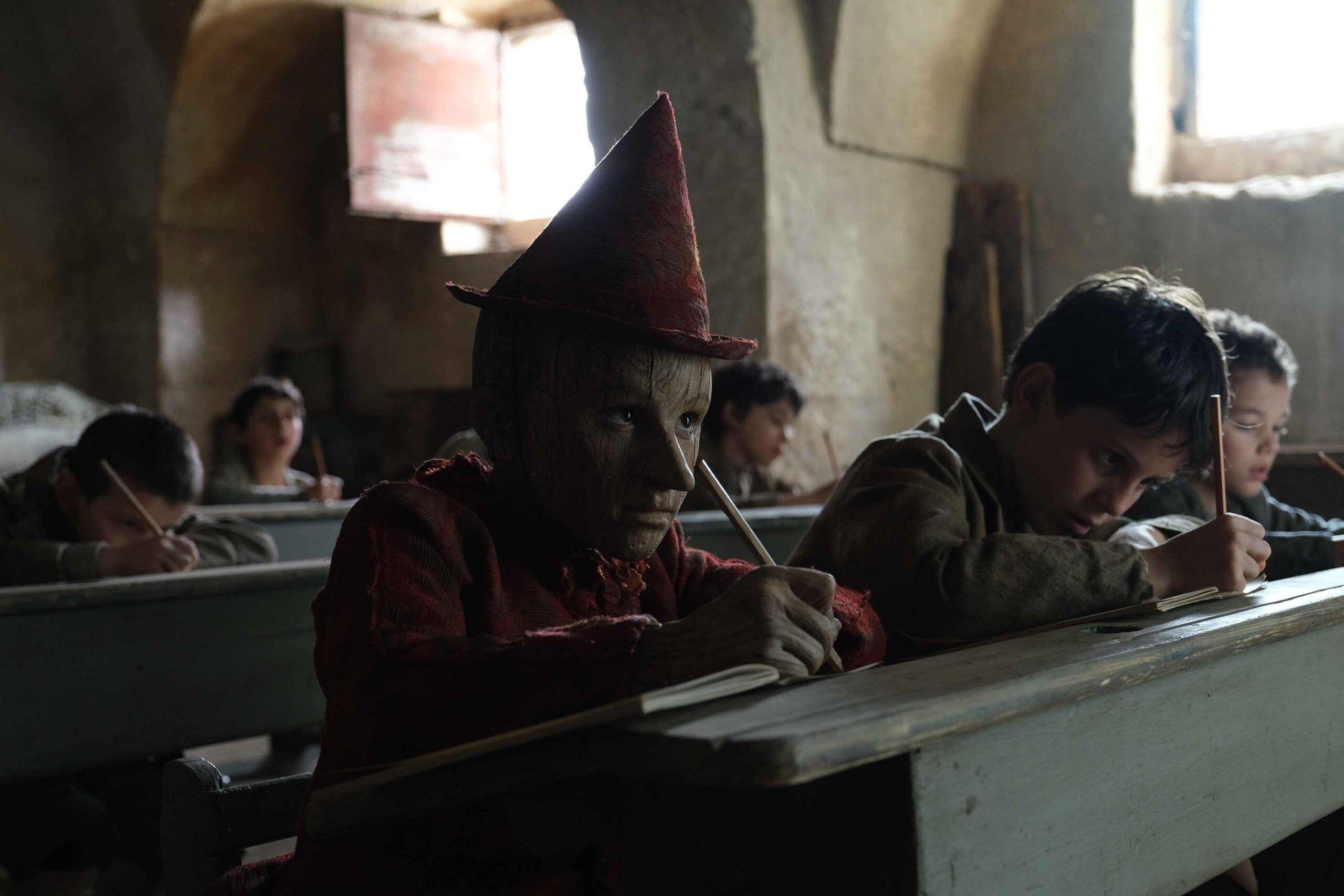 Pinocho en clase