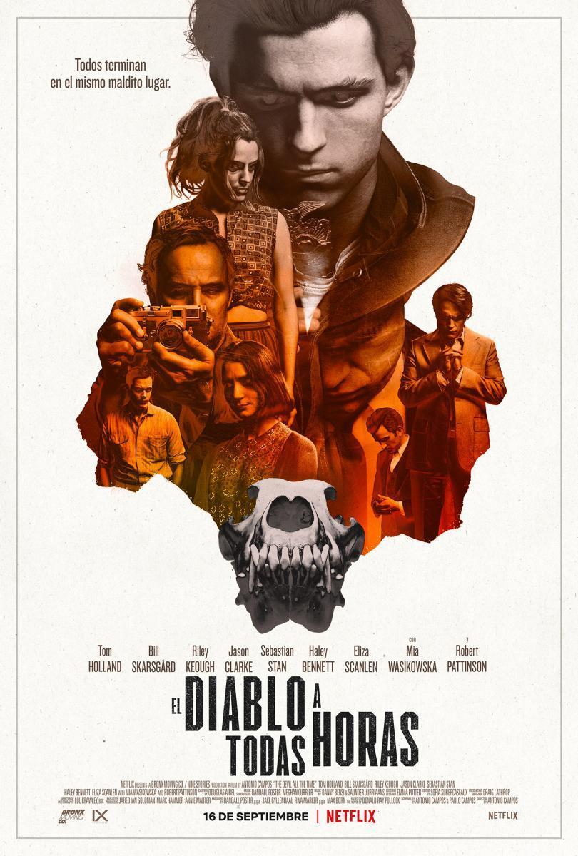 Cartel de la película El diablo a todas horas