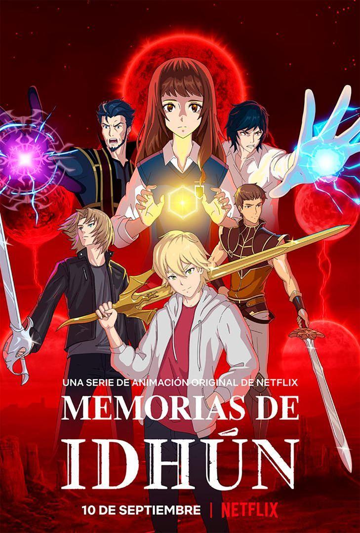 Cartel de la serie Memorias de Idhún de Netflix