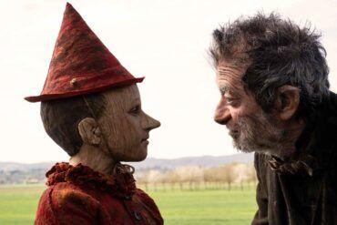 Pinocho y Gato en la película