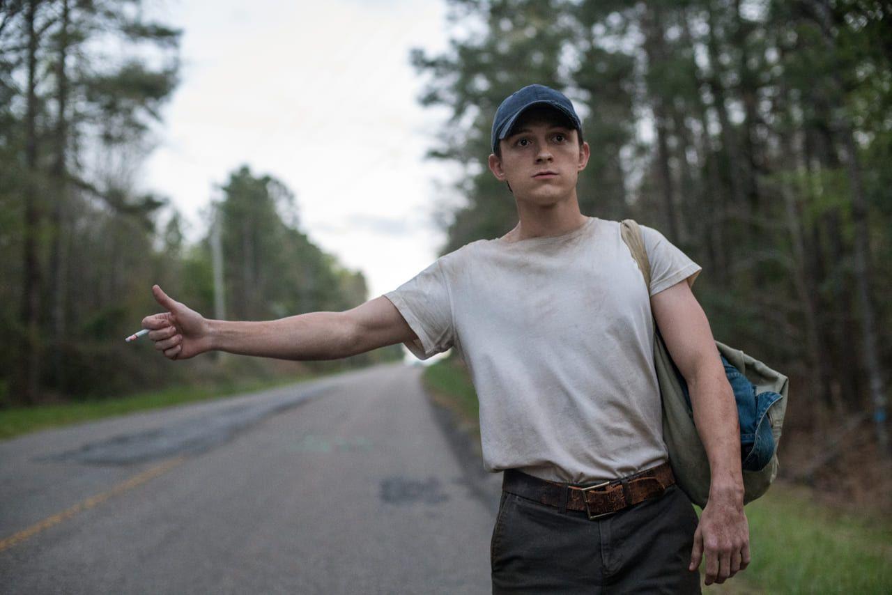 Tom Holland en la película