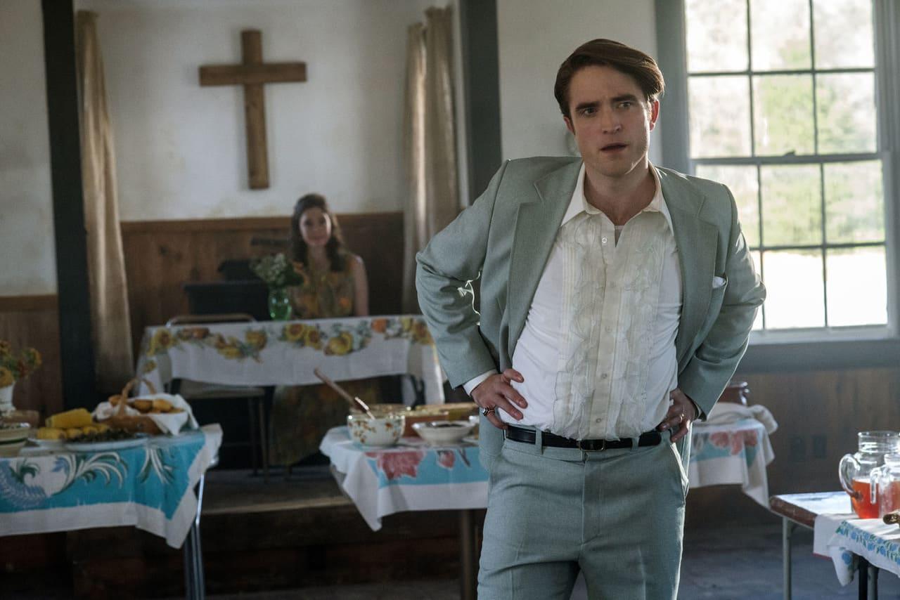Robert Pattinson en la película