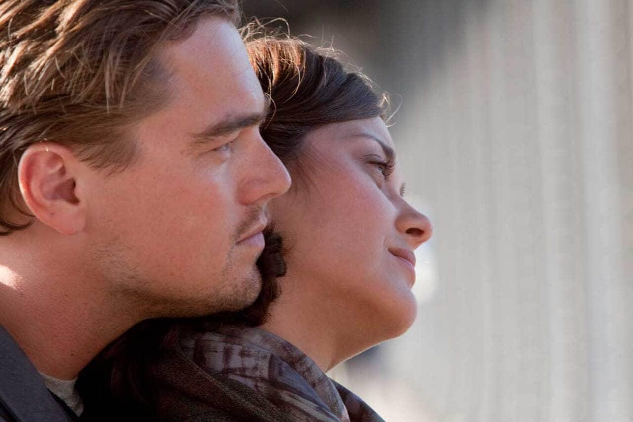 Leonardo DiCaprio y Marion Cotillard