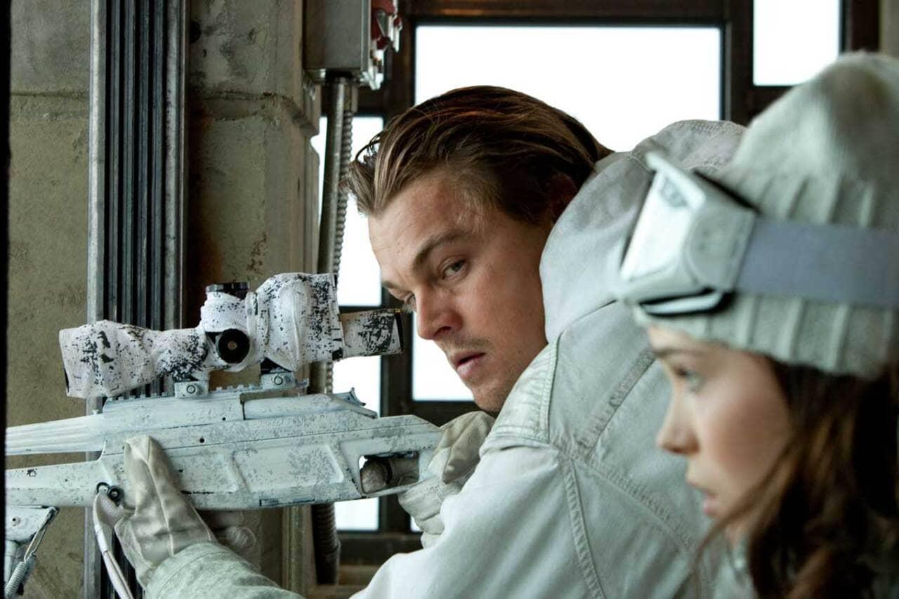 Ellen Page y Leonardo DiCaprio en Origen
