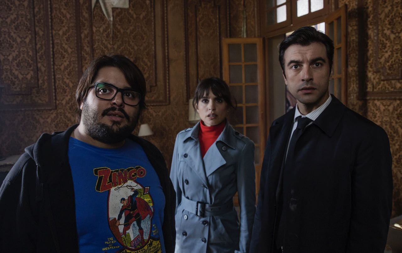 Javier Rey, Verónica Echegui y Brays Efe
