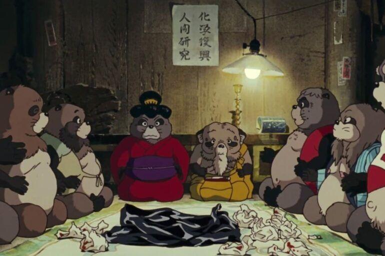 Crítica de la película de animación Pompoko