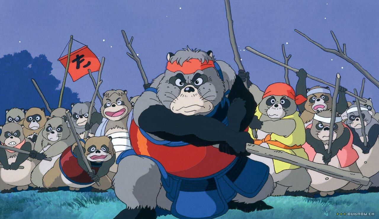 Pompoko del Studio Ghibli (1994)