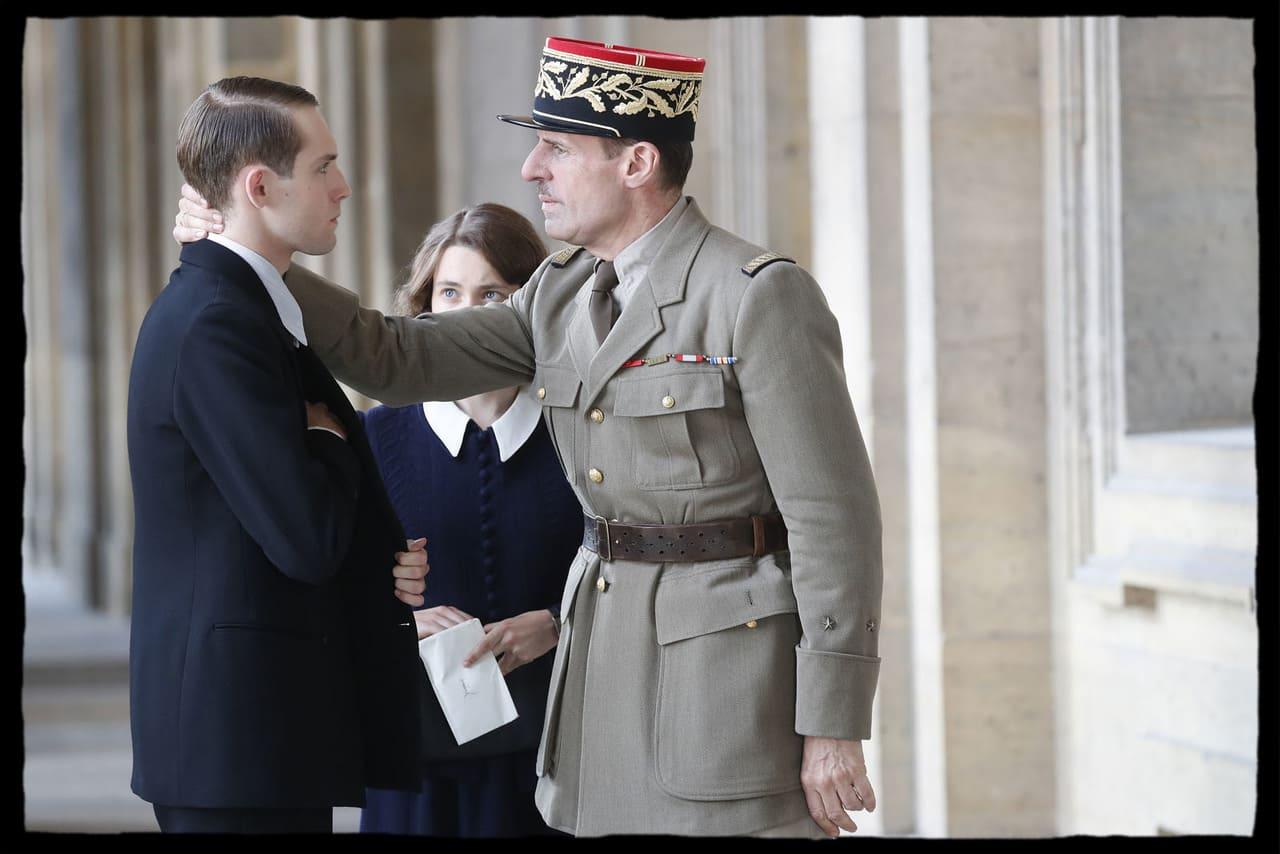 Escena de la película de De Gaulle (2020)
